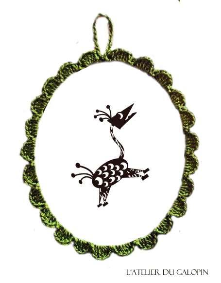 Ovale Crochet